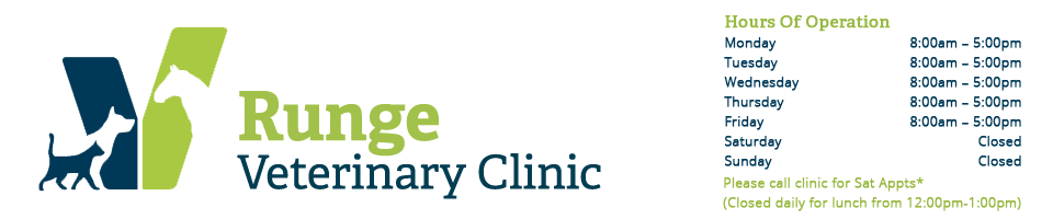 Logo for Veterinarians Runge | Runge Veterinary Clinic